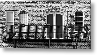 Wrought Iron Metal Print by Lawrence Burry