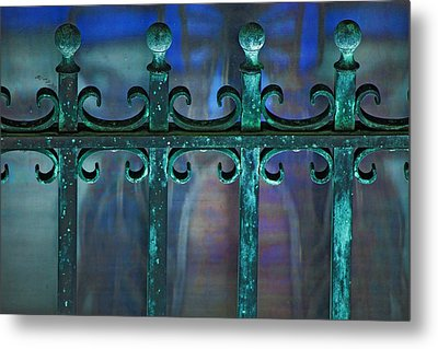 Wrought Iron Metal Print