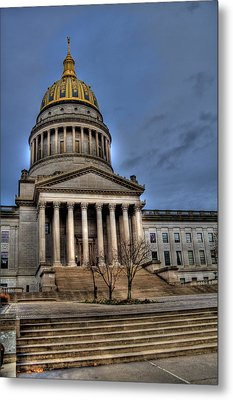 Wv Capital Building 2 Metal Print by Jonny D