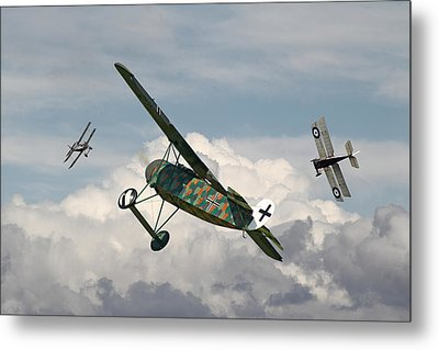 Ww1 - Spoiled For Choice Metal Print by Pat Speirs