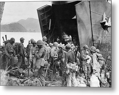 Wwii - New Guinea 1944 Metal Print by Granger