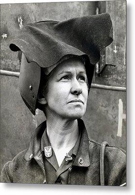Wwii Rosie The Riveter Metal Print