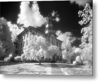 Wyoming County Courthouse Metal Print by Jim Cook