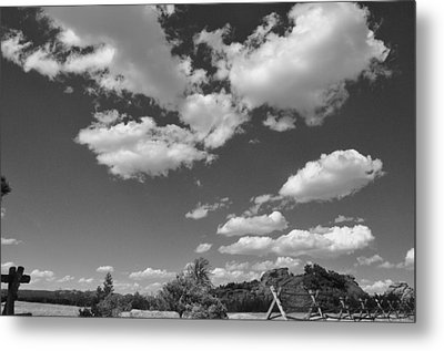 Wyoming Sky  Metal Print