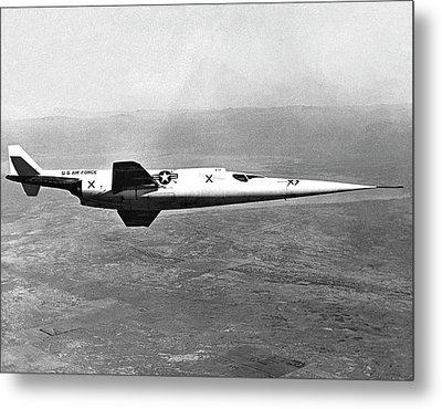 X-3 Stiletto Experimental Aircraft Metal Print