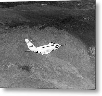 X-4 Bantam Experimental Aircraft Metal Print