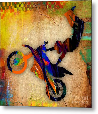 X Games Metal Print by Marvin Blaine