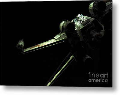 X-wing Fighter Metal Print by Micah May