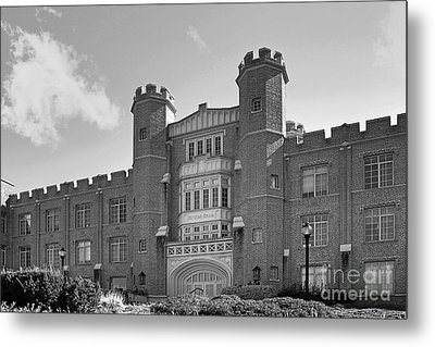 Xavier University Hinkle Hall Metal Print by University Icons
