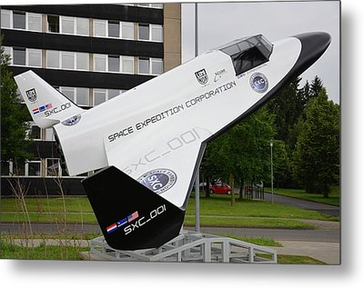 Xcor Lynx Commercial Rocketplane Metal Print by Detlev Van Ravenswaay