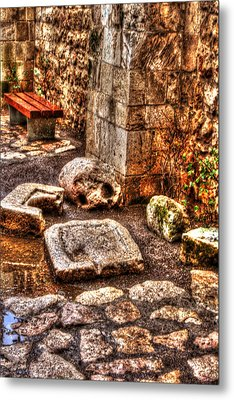 Metal Print featuring the photograph Stones That Don't Lie - Israel by Doc Braham