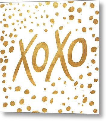 Xoxo Metal Print by Patricia Pinto