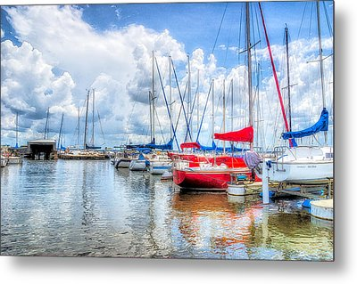 Yacht Club Metal Print