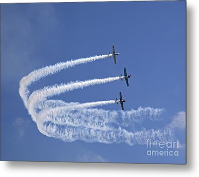Yaks Aerobatics Team Metal Print by Jane Rix