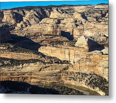 Yampa River Canyon In Dinosaur National Monument Metal Print