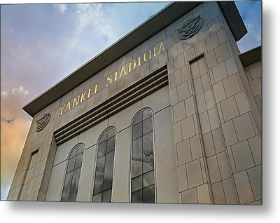 Yankee Stadium Metal Print by Stephen Stookey