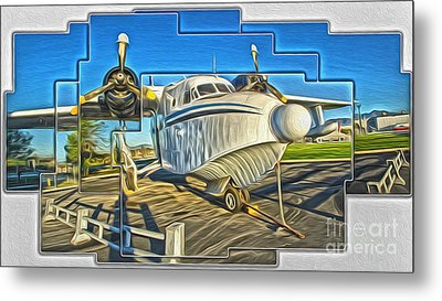 Yanks Air Museum Metal Print by Gregory Dyer