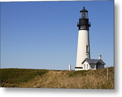 Yaquina Head Lighthouse 3 Metal Print by David Gn