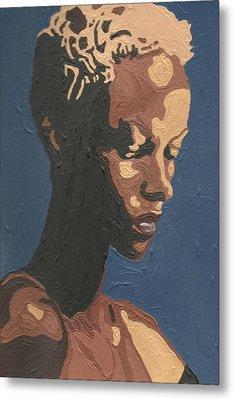 Yasmin Warsame Metal Print by Rachel Natalie Rawlins