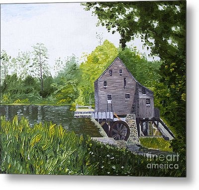 Yates Mill Summer Metal Print by Kevin Croitz