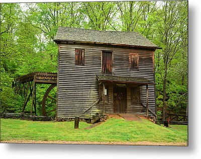 Metal Print featuring the photograph Ye Olde Grist Mill by Bob Sample