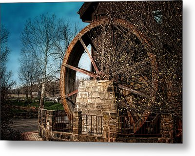 Ye Olde Mill Metal Print by Tom Mc Nemar