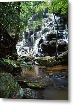 Yellow Branch Falls Metal Print by Ray Mathis