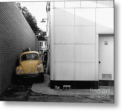 Yellow Bug Metal Print by   Joe Beasley