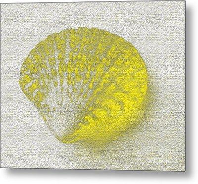 Yellow Metal Print by Carol Lynch