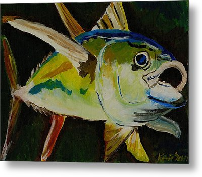 Yellow Fin Tuna Metal Print