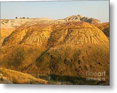 Yellow Mounds Overlook Badlands National Park Metal Print