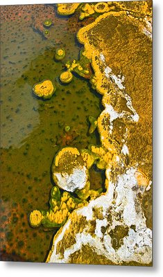 Yellowstone Abstract Metal Print by Jamie Pham