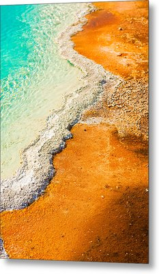Yellowstone Abstract Metal Print