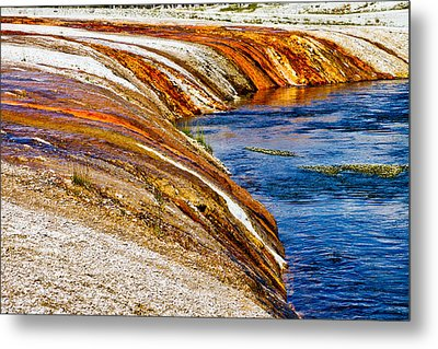 Yellowstone Earthtones Metal Print by Bill Gallagher
