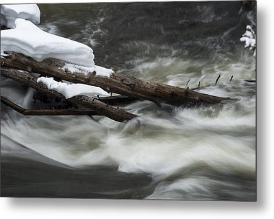 Yellowstone Falls Metal Print