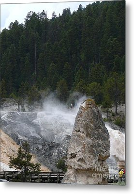 Yellowstone Metal Print by Jeff Pickett