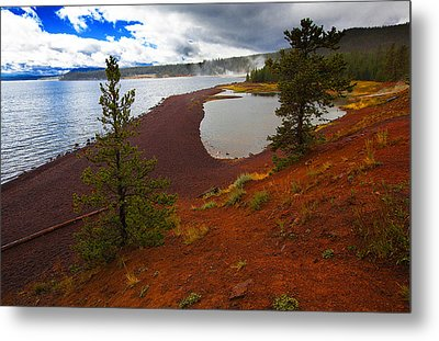 Yellowstone Park Usa Metal Print