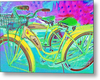 Yesterday It Seemed Life Was So Wonderful 5d25760 M38 Metal Print by Wingsdomain Art and Photography