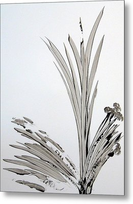 Yesterday's Blooms Metal Print