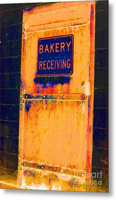 Yesterday's Bread Metal Print