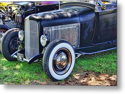 Yesterdays Hot Rod Metal Print