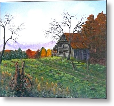 Yesteryear Autumn Metal Print