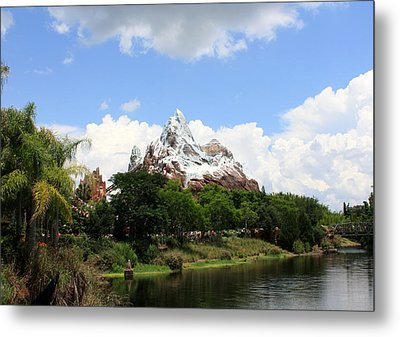Metal Print featuring the photograph Yeti Country by David Nicholls