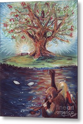 Yggdrasil - The Last Refuge Metal Print