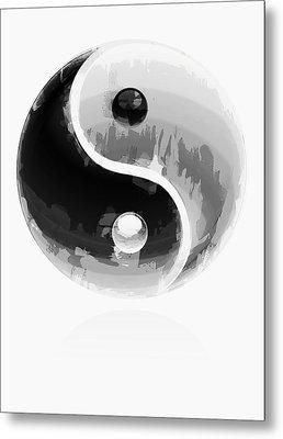 Yin Yang 2 Metal Print by Daniel Hagerman