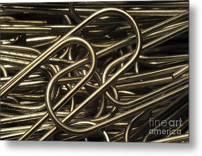 Yin-yang Metal Print by Luke Moore