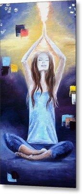yoga meditation lotus pose paintingmila kronik