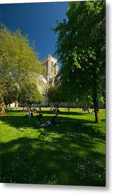 Metal Print featuring the photograph York Minster by Stephen Taylor