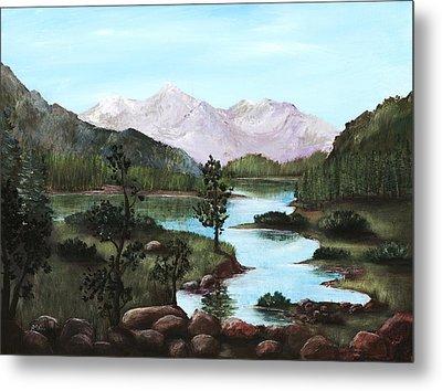 Yosemite Meadow Metal Print by Anastasiya Malakhova