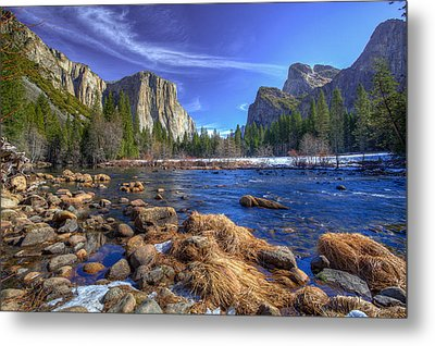 Yosemite's Valley View Metal Print